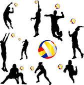 Röplabda játékos