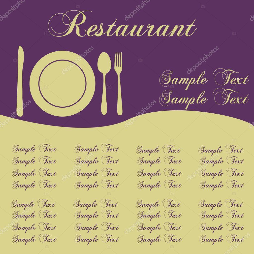 restaurant menus stock vector nmarques74 4562531