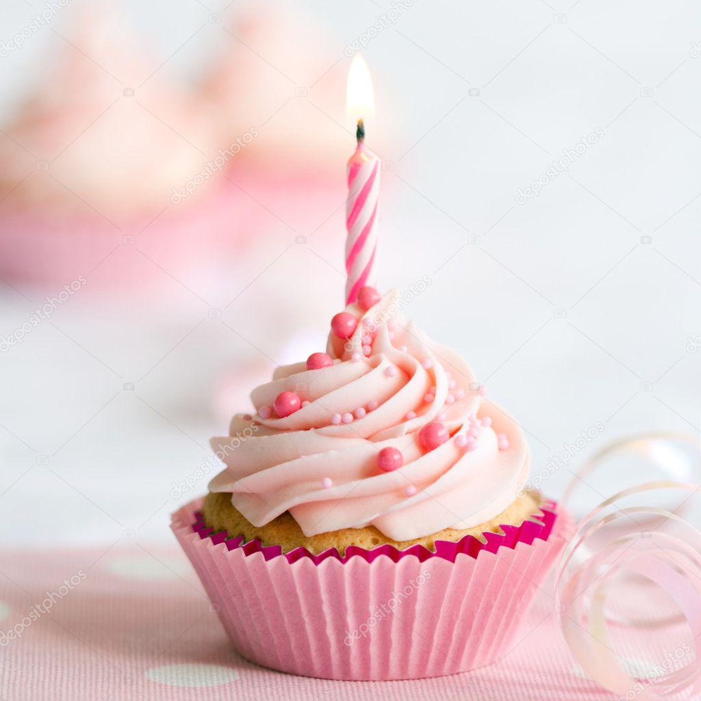 Geburtstag Cupcake Stockfoto C Ruthblack 5140469