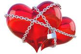 Photo Hearts chain