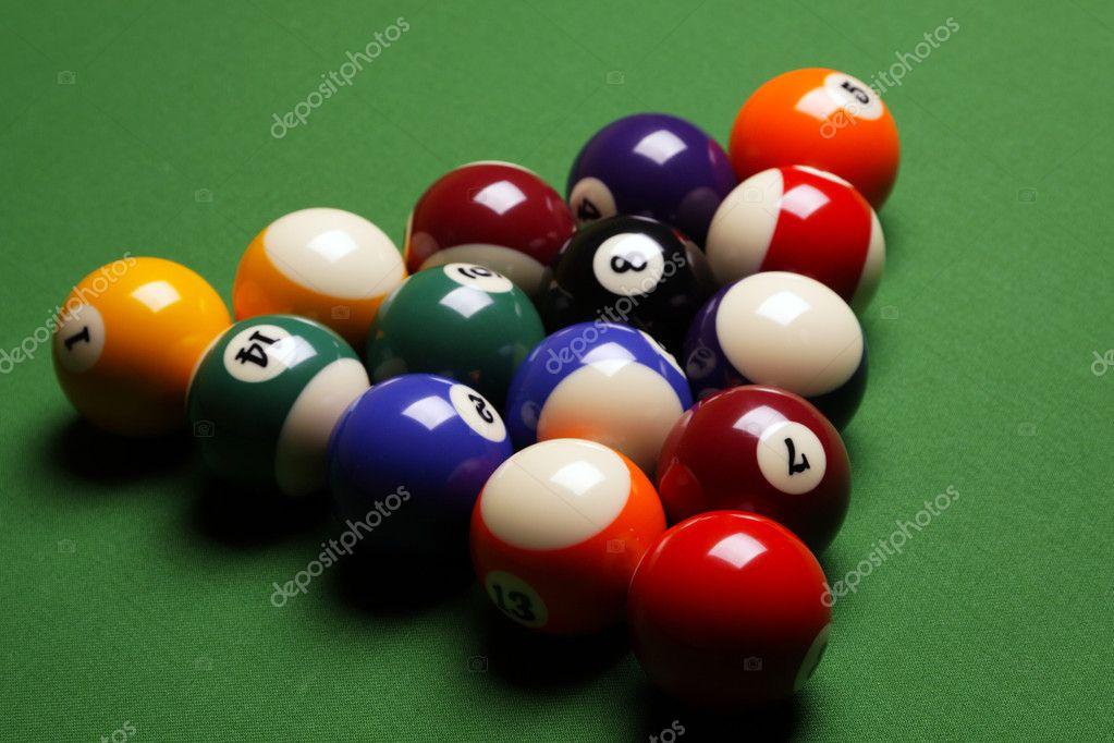 Pool Konzept billiart zeit spiel pool konzept stockfoto brunoweltmann 4733853