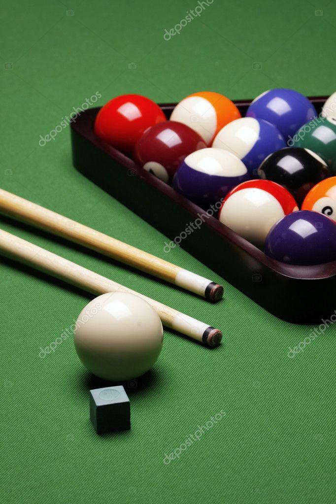Pool Konzept billiart zeit spiel pool konzept stockfoto brunoweltmann 4733861