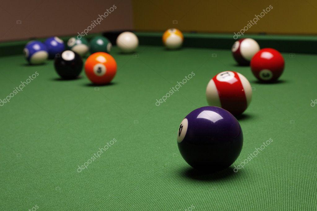 Pool Konzept billiart zeit spiel pool konzept stockfoto brunoweltmann 4733869