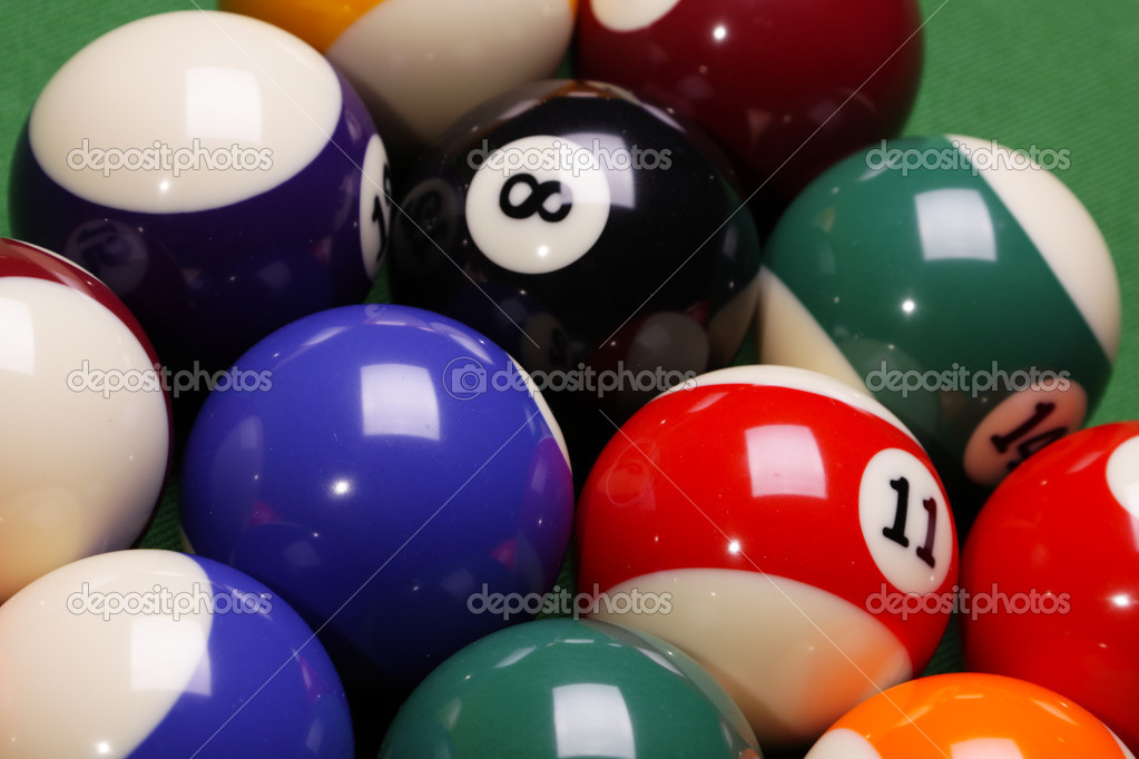 Pool Konzept billiart zeit spiel pool konzept stockfoto brunoweltmann 4733895