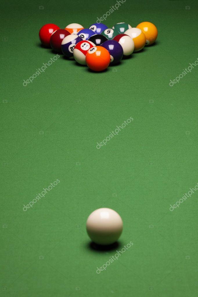 Pool Konzept billiart zeit spiel pool konzept stockfoto brunoweltmann 4733944