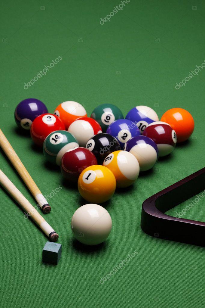 Pool Konzept billiart zeit spiel pool konzept stockfoto brunoweltmann 4733985
