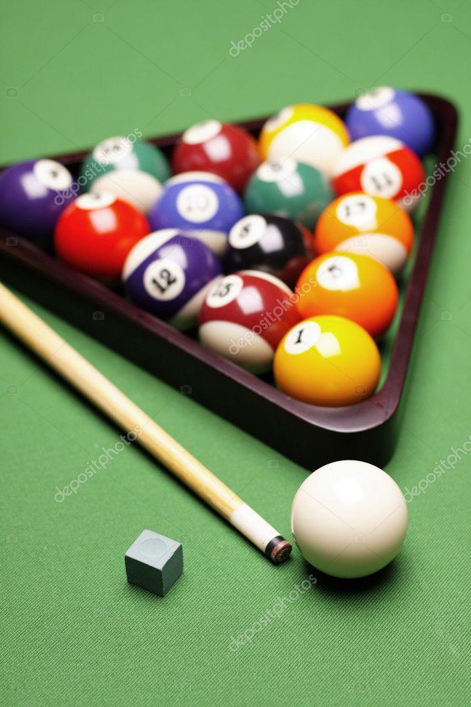 Pool Konzept billiart zeit spiel pool konzept stockfoto brunoweltmann 4734034