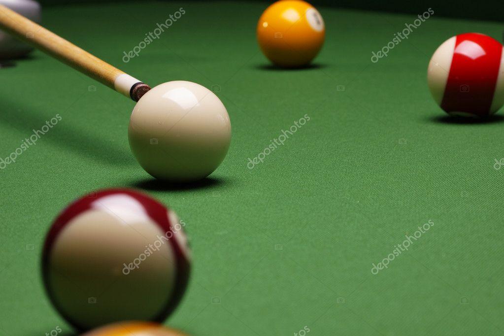 Pool Konzept billiart zeit spiel pool konzept stockfoto brunoweltmann 4734113