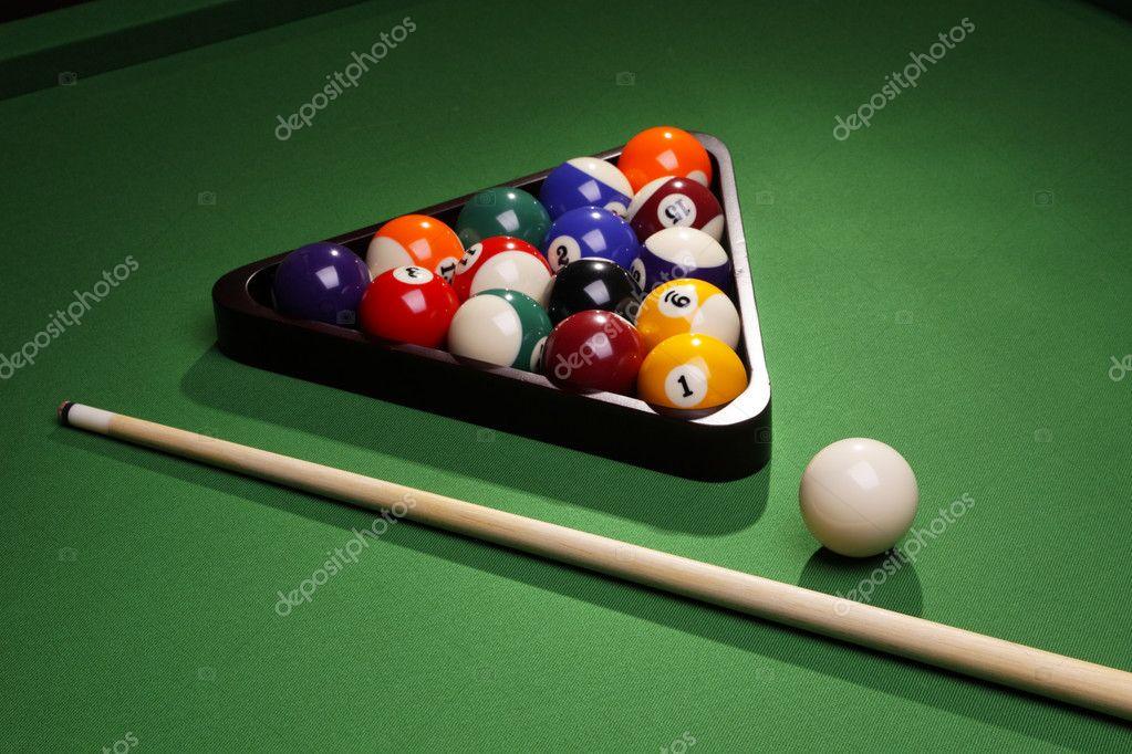 Pool Konzept billiart zeit spiel pool konzept stockfoto brunoweltmann 4734169