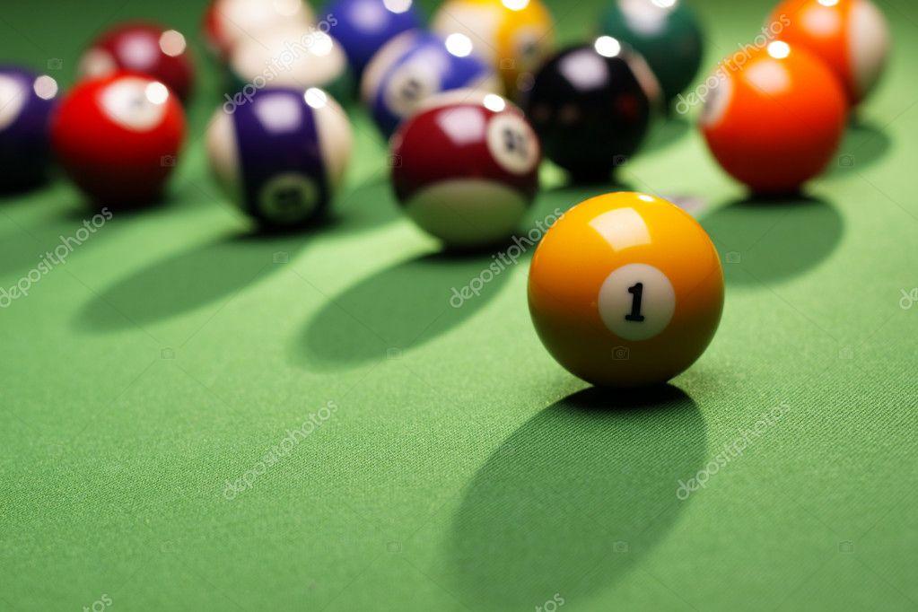 Pool Konzept billiart zeit spiel pool konzept stockfoto brunoweltmann 4734219