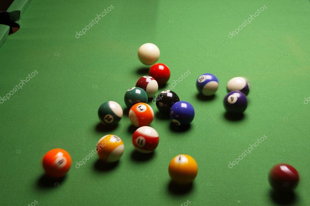 Pool Konzept billiart zeit spiel pool konzept stockfoto brunoweltmann 4734395