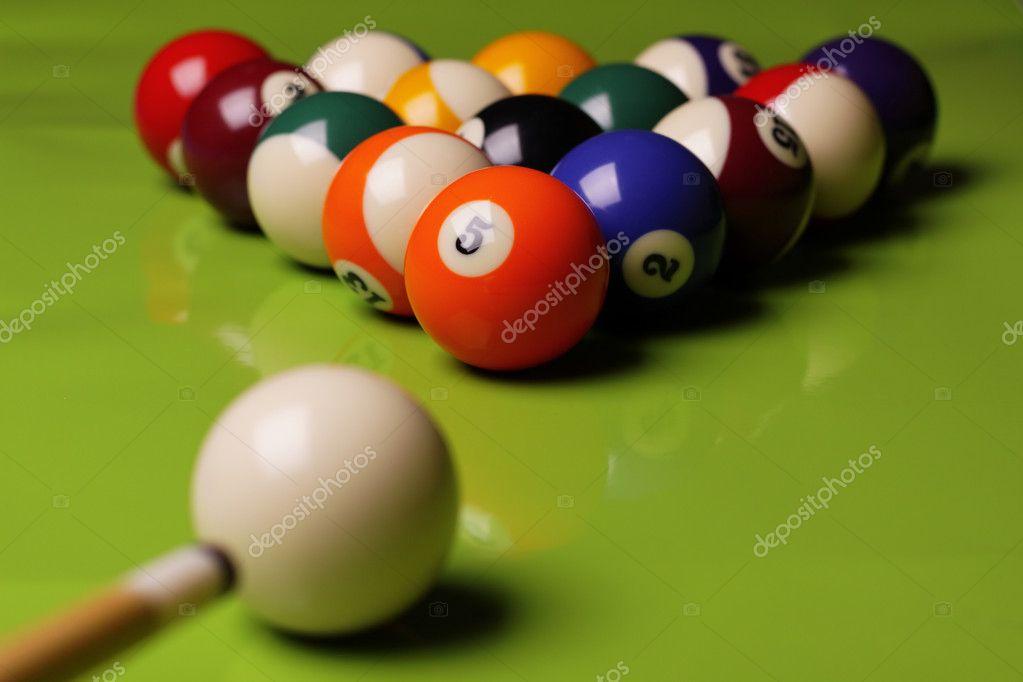 Pool Konzept billiart zeit spiel pool konzept stockfoto brunoweltmann 4734484