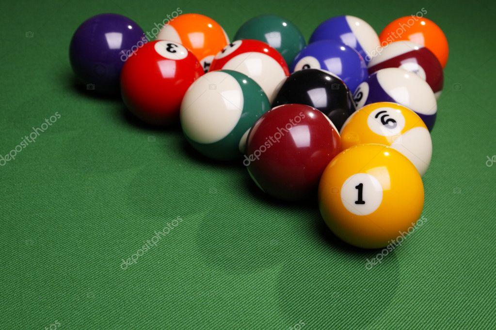 Pool Konzept billiart zeit spiel pool konzept stockfoto brunoweltmann 4734587