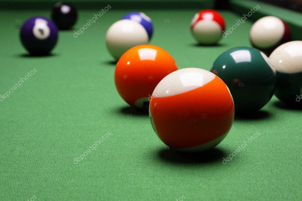 Pool Konzept billiart zeit spiel pool konzept stockfoto brunoweltmann 4734590