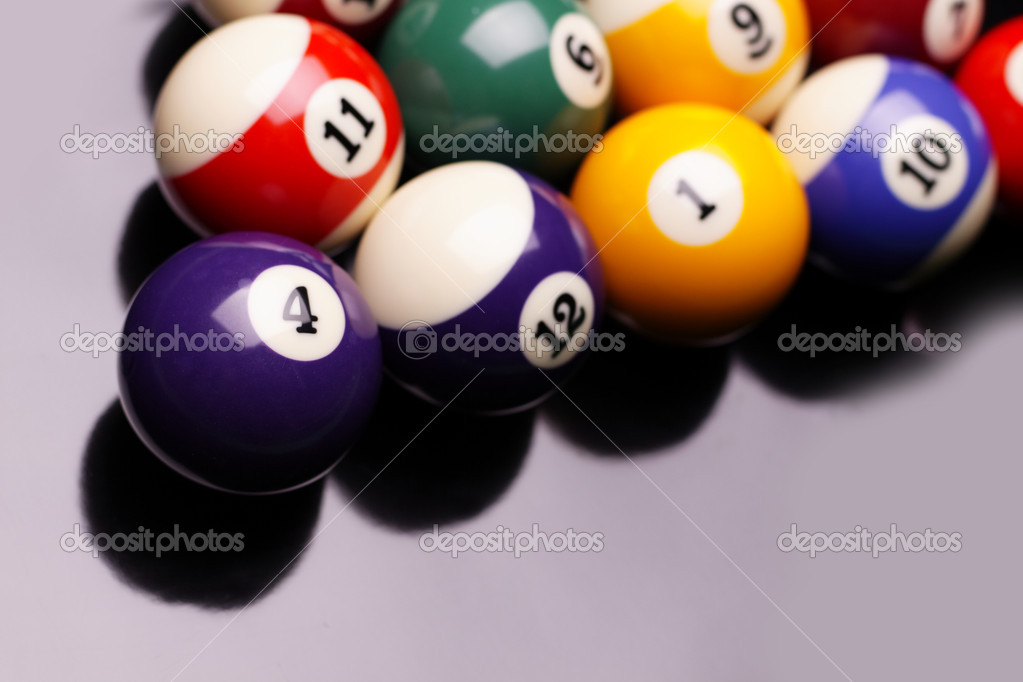 Pool Konzept billiart zeit spiel pool konzept stockfoto brunoweltmann 4734769