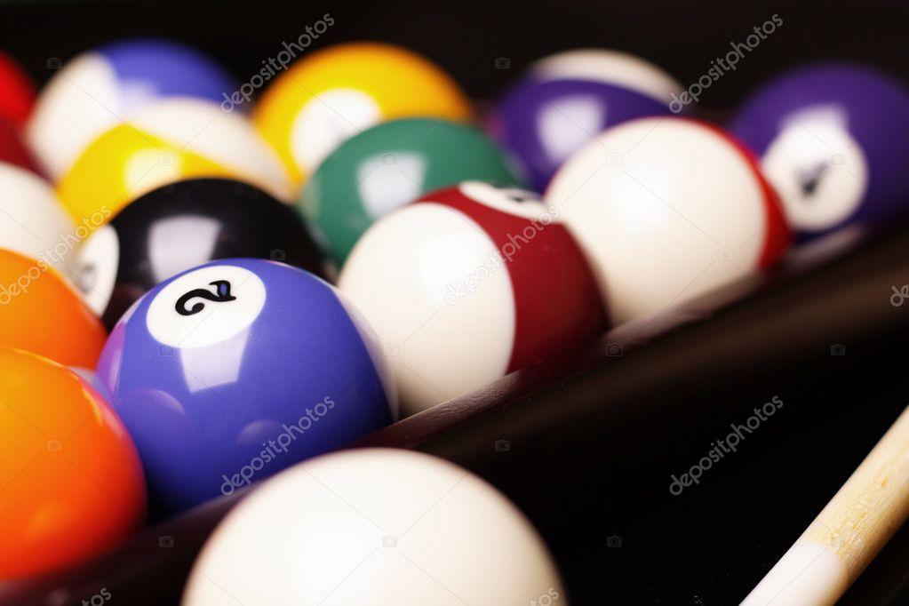 Pool Konzept billiart zeit spiel pool konzept stockfoto brunoweltmann 4734772