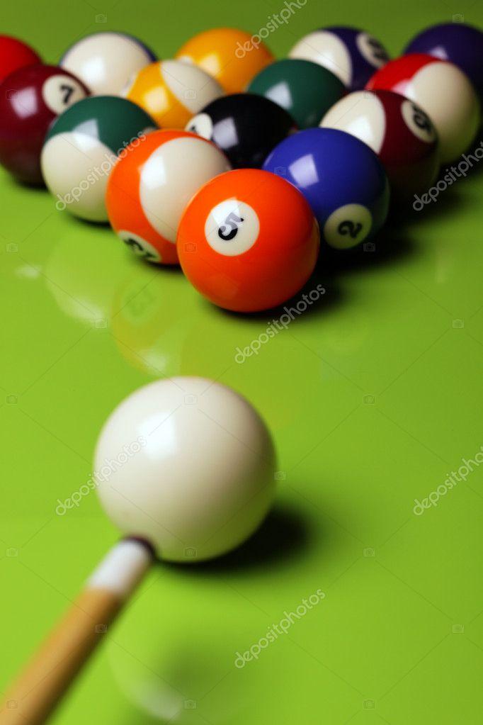 Pool Konzept billiart zeit spiel pool konzept stockfoto brunoweltmann 4734780
