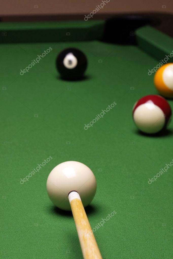 Pool Konzept billiart zeit spiel pool konzept stockfoto brunoweltmann 4734827