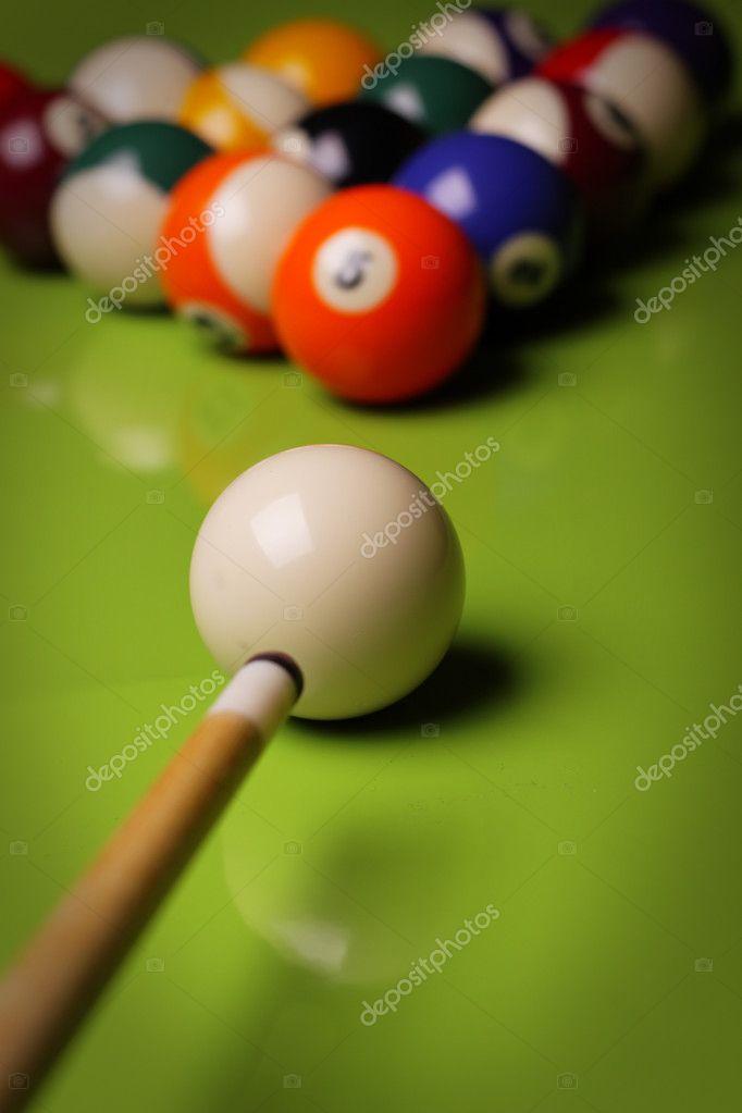 Pool Konzept billiart zeit spiel pool konzept stockfoto brunoweltmann 4734946
