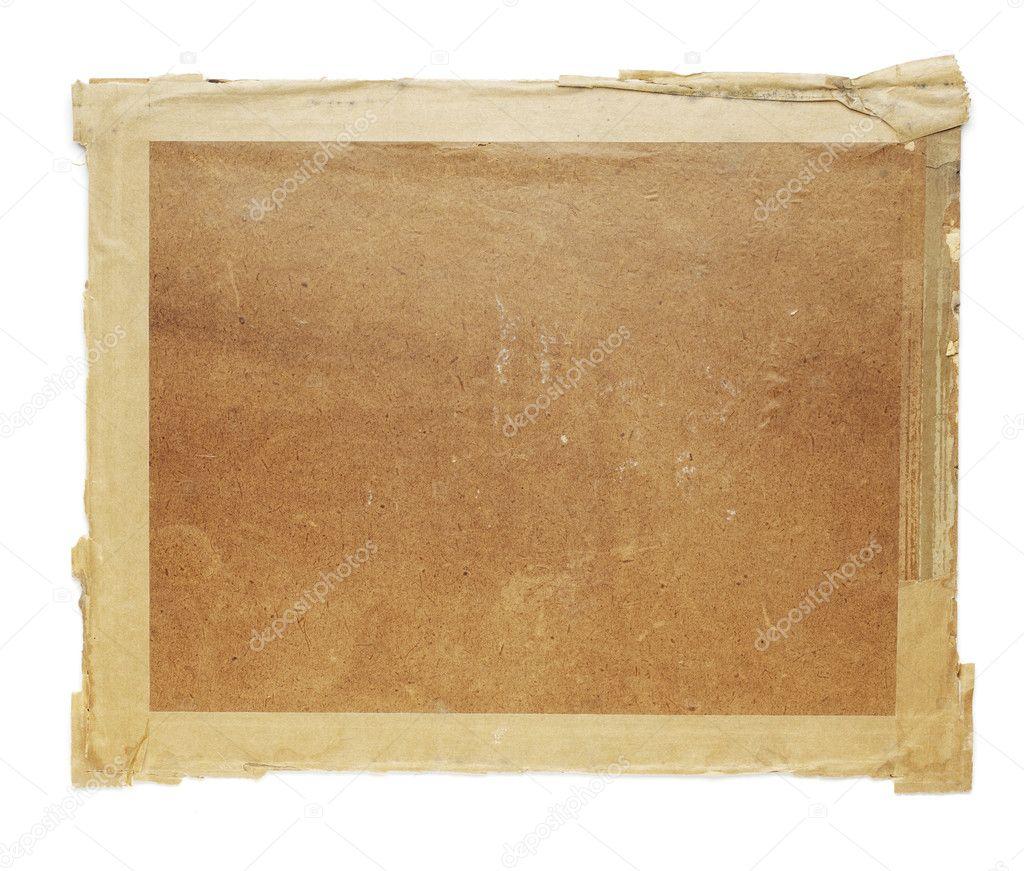 Old cardboard — Stock Photo © stocksnapper #4262658
