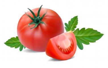 Tomato with segment