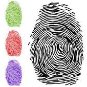 Fotografia a finger-print