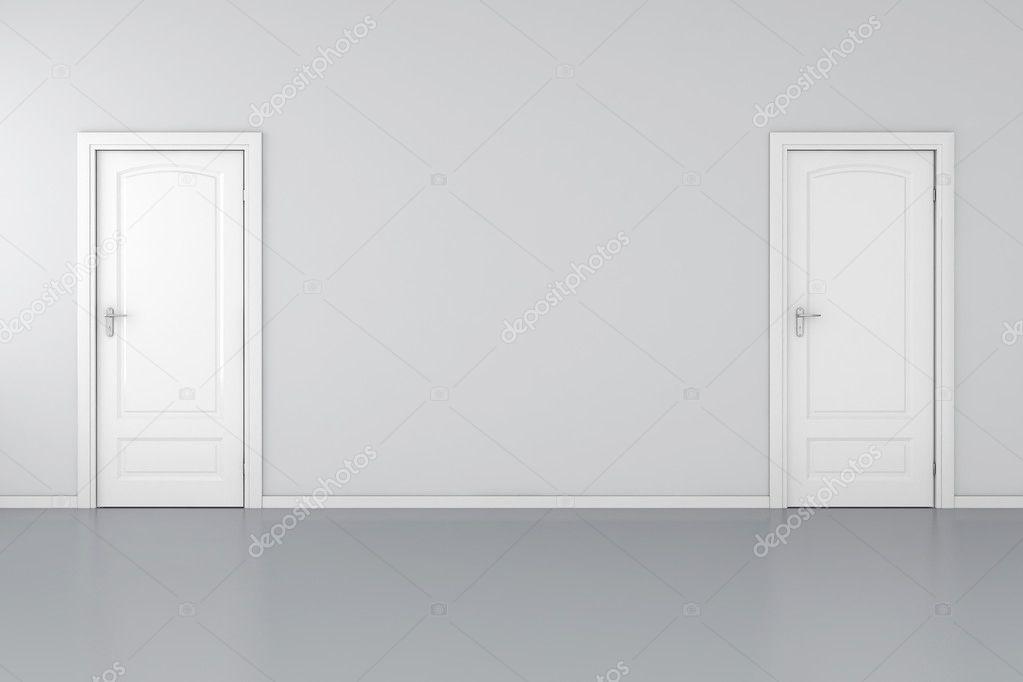 Puertas grises puertas abatibles invisibles puertas for Puertas blancas paredes grises