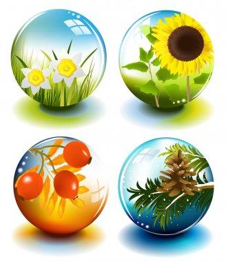 Four season spheres