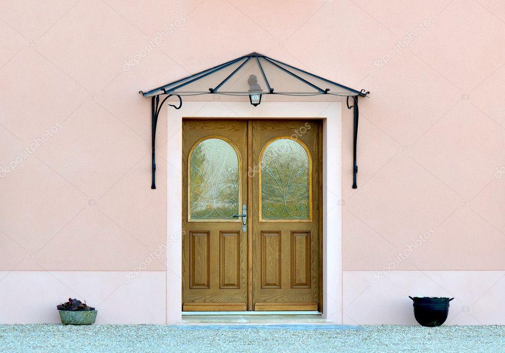 Tur Vordach Eingang Stockfoto C Sanddebeautheil 5236264