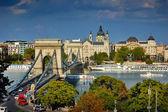 a híres Lánchíd Budapest