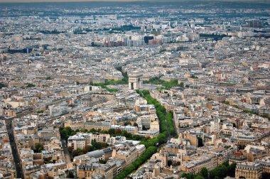 Arc de Triomphe and Paris panorama