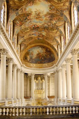 Chapel of Versailles Chateau, France