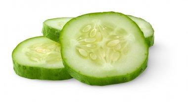 Slices of cucumber