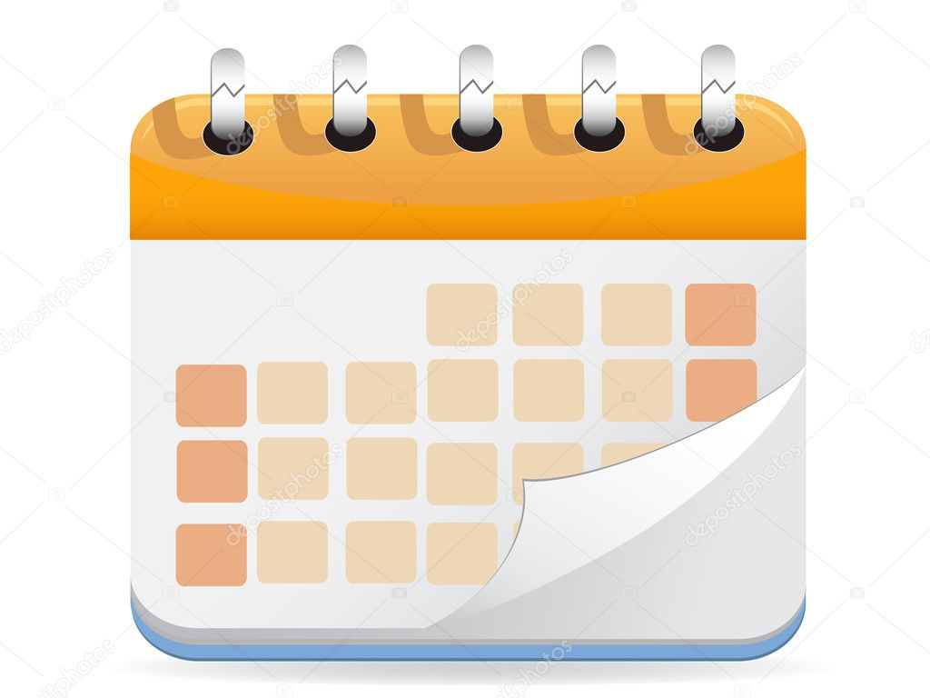 Calendar Illustration Vector : Calendar vector — stock huhulin