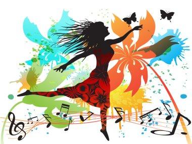 Spring dancing