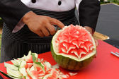 Photo Fruit carving