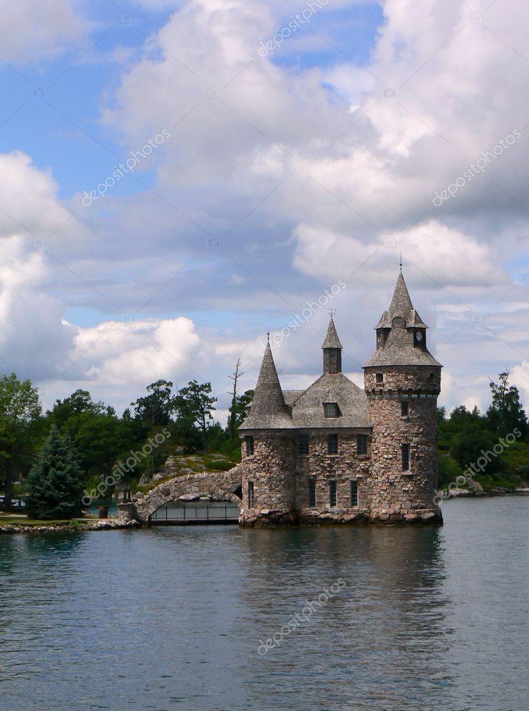 castillo boldt en el lago ontario canad u foto de stock