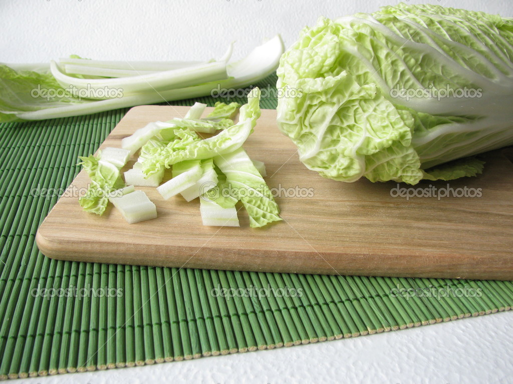 chinese kool klaar om te koken — stockfoto © heikerau #4553665