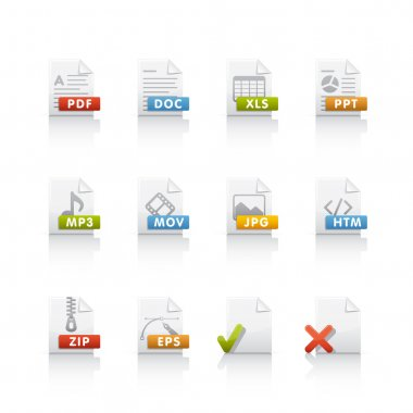 Icon Set - Document Files