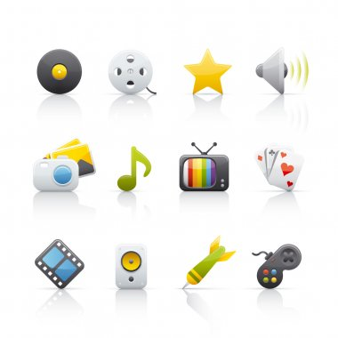 Icon Set - Entertainment