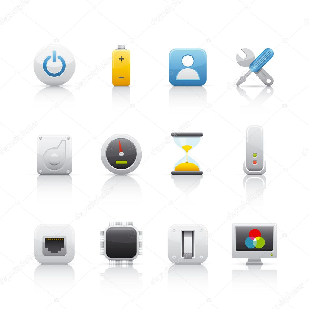 Icon Set - Computer Equipament 4