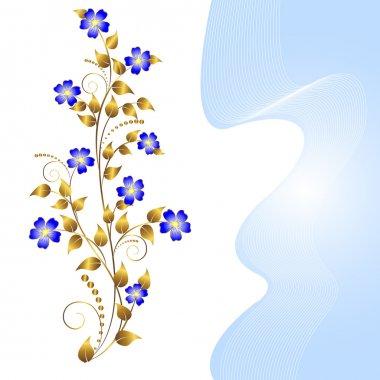 Floral ornament.