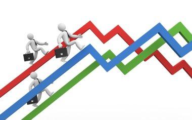 The businessmen overcome financial crisis