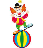 Photo Clown vector