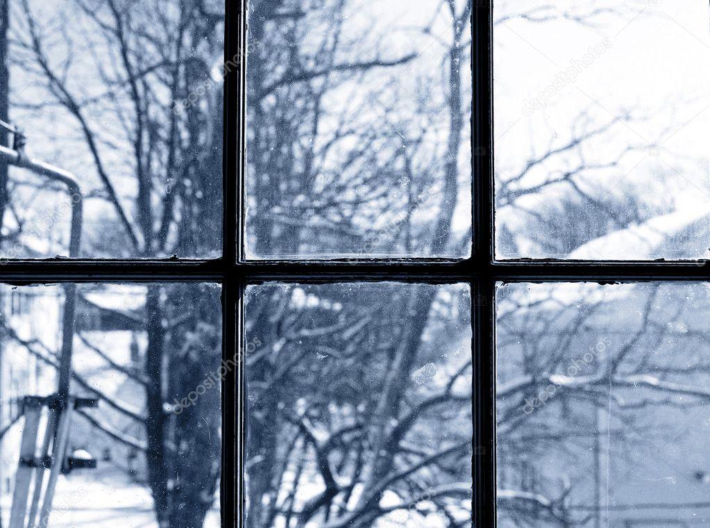 Winter View From Window Stock Photo 169 J0ycem 4917560