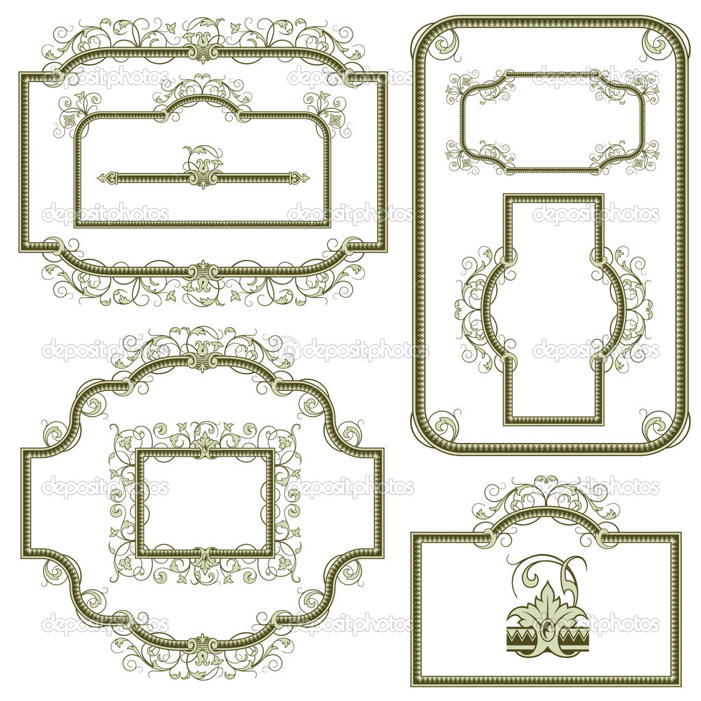 Decorative border for design