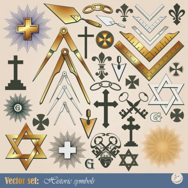 Historical and religious symbols