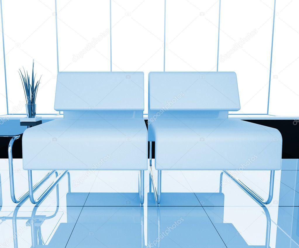 Muebles De Oficina Blanco Foto De Stock C Kash76 4159546