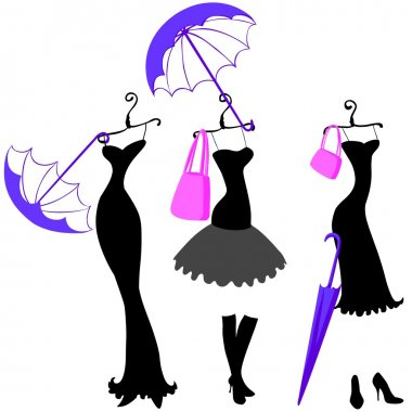 Women dresses and accessories