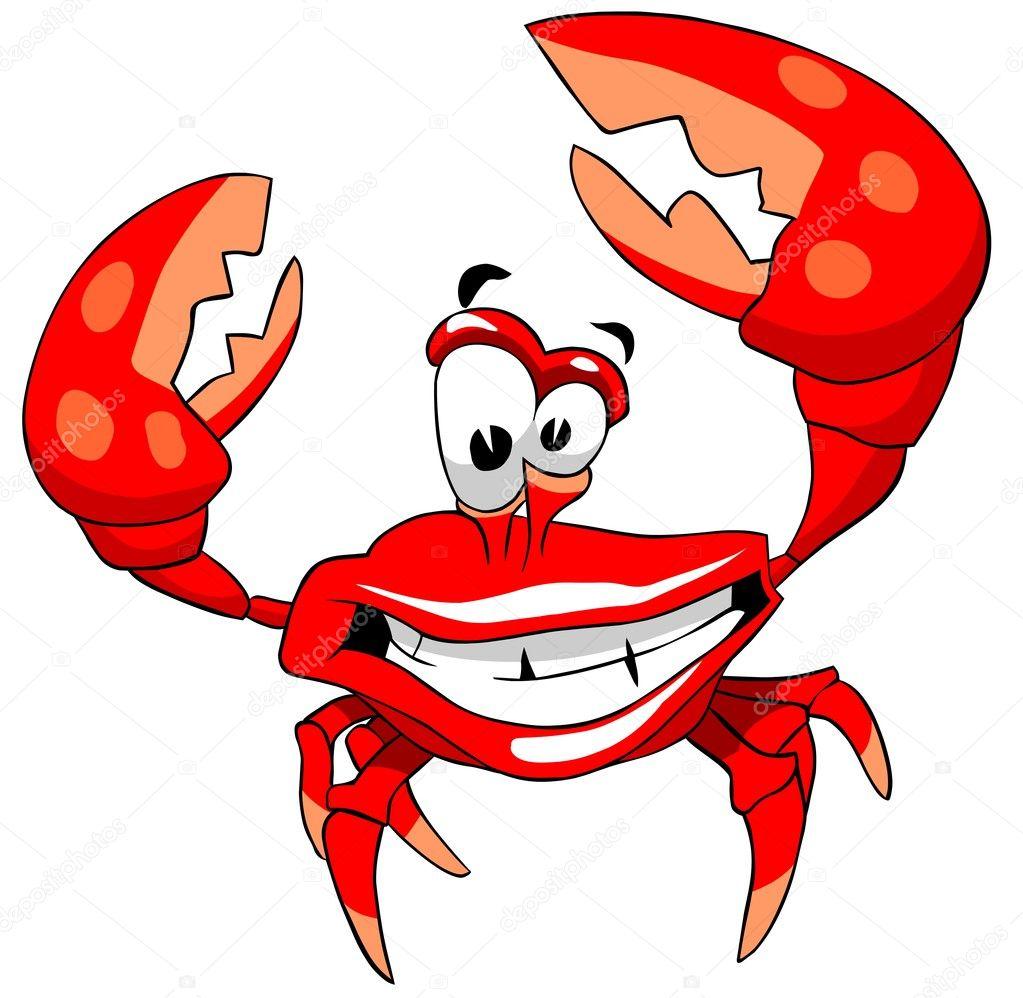 happy crab u2014 stock photo regisser com 5280574